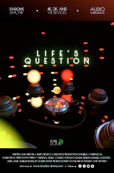 Life's Question - 4K Fulldome Film - Audio Surround 5.1