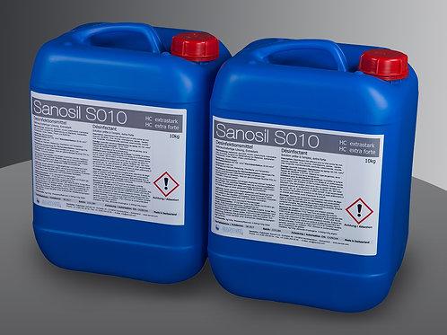 Sanosil S010(HC) 2x10kg Hochleistungsdesinfektion