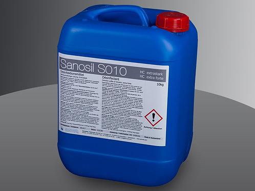Sanosil S010(HC) 10kg Hochleistungsdesinfektion