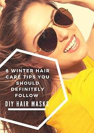 8 Winter Hair Care Tips You Should Definitely Follow - DIY Hair Masks