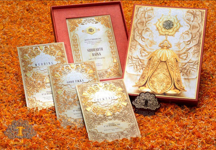 @thepopupfeed    17 Creative and Quirky Indian Wedding Invitation Designs