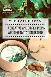 17 Creative and Quirky Indian Wedding Invitation Designs