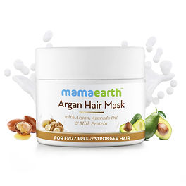 MamaEarth Argan Hair Mask (For Dull and Dry Hair) - Review
