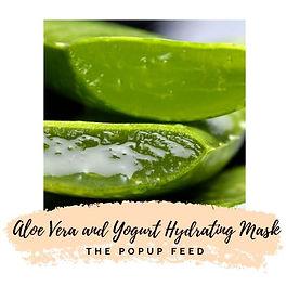 Aloe Vera and Yogurt Hydrating Mask - DIY