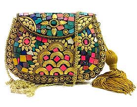 Shell Mosaic Bag
