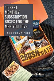 15 Best Monthly Subscription Boxes For The Men You Love