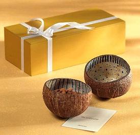 Tidbit Coconut Shell Bowl Set
