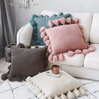 Soft Cushion Cover – Modern Boho