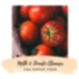 Milk & Tomato Cleanser - DIY