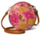 Floral Embroidery - Orbis Crossbody Bag