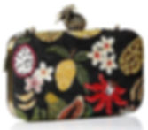 Fruitful Life Beaded Crossbody Handbag