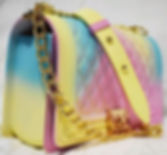 Color Matte Matte Rhombic Jelly Bag
