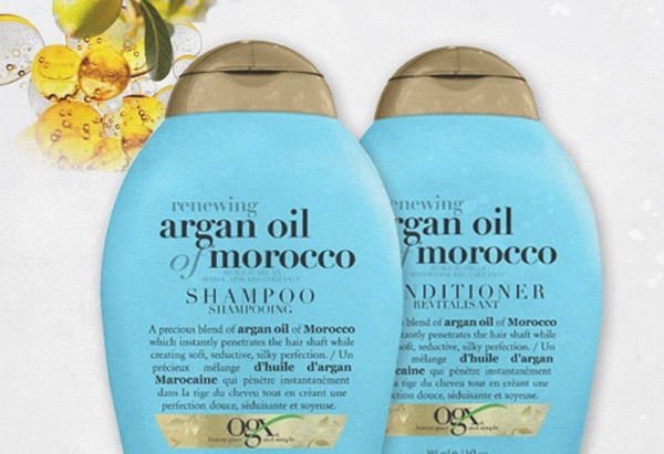 OGX Moroccan Argan Oil Shampoo + Conditioner - Review