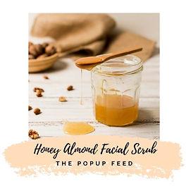 Honey Almond Facial Scrub - DIY