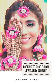 Looking To Shop Floral Jewellery In Delhi?