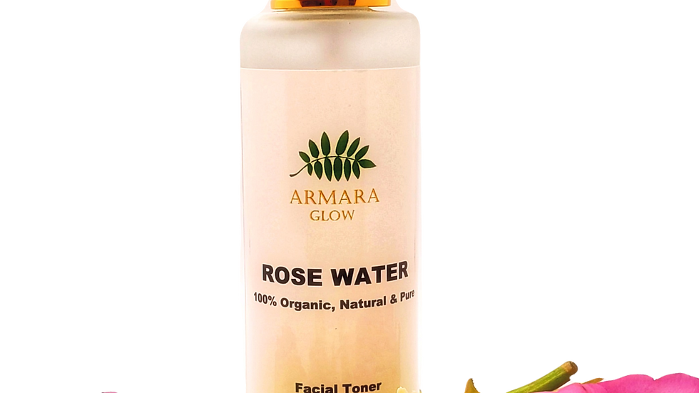Pure and Organic Rose Water