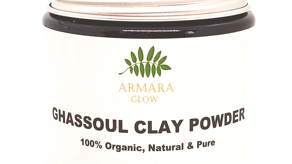 Organic Moroccan Ghassoul Clay Powder