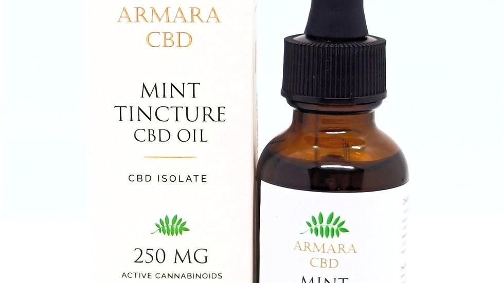 250mg CBD Isolate Mint Tincture