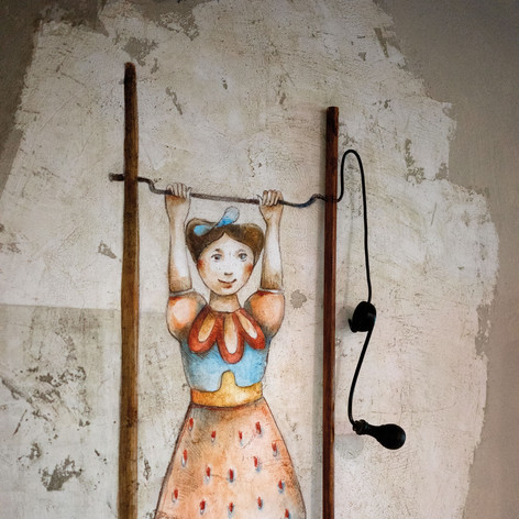 Ballerina a manovella