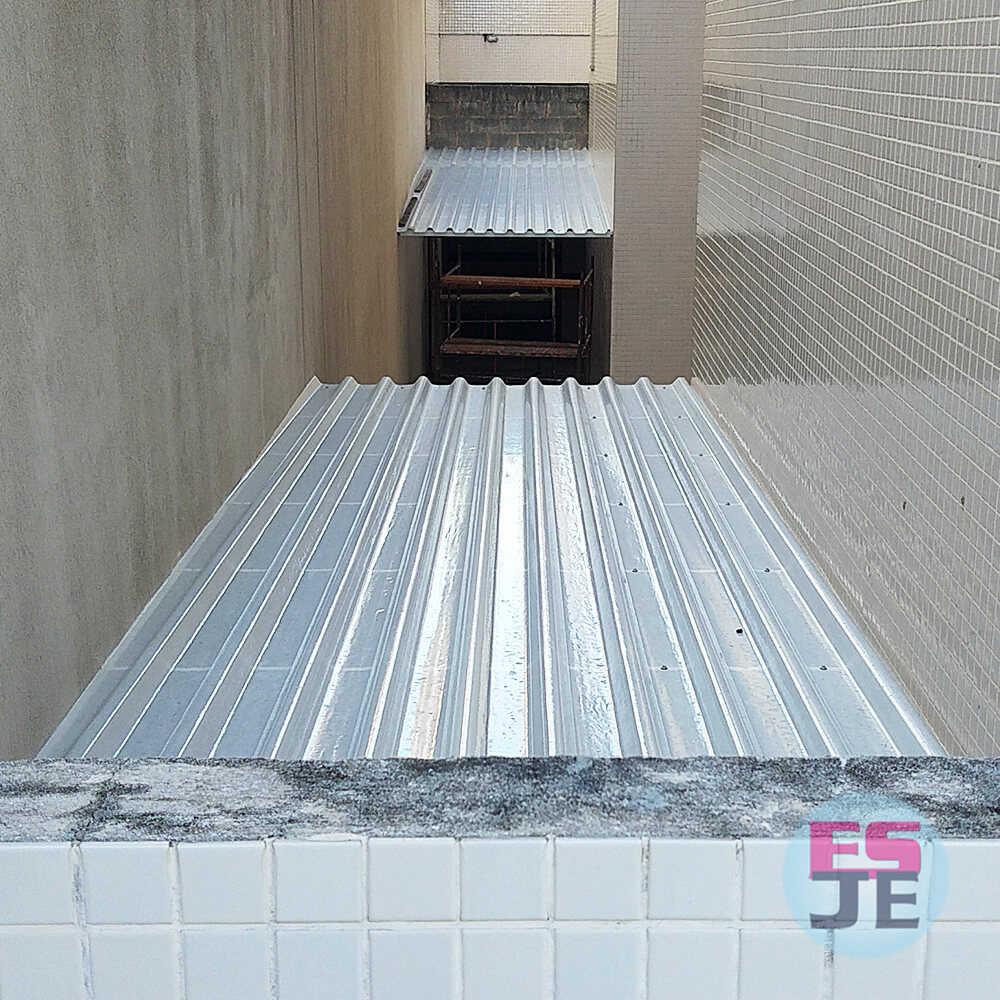 Instalação de Telhado Translúcido