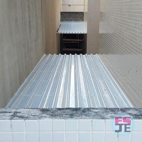 Instalação de Telhado Translúcido - Praia de Camburi - Vitória/ES