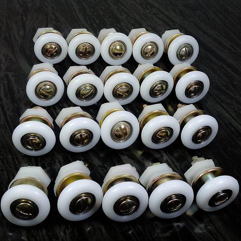 Roldana com regulagem para vidro de 8mm 1125/E - Mínimo de 10 unid