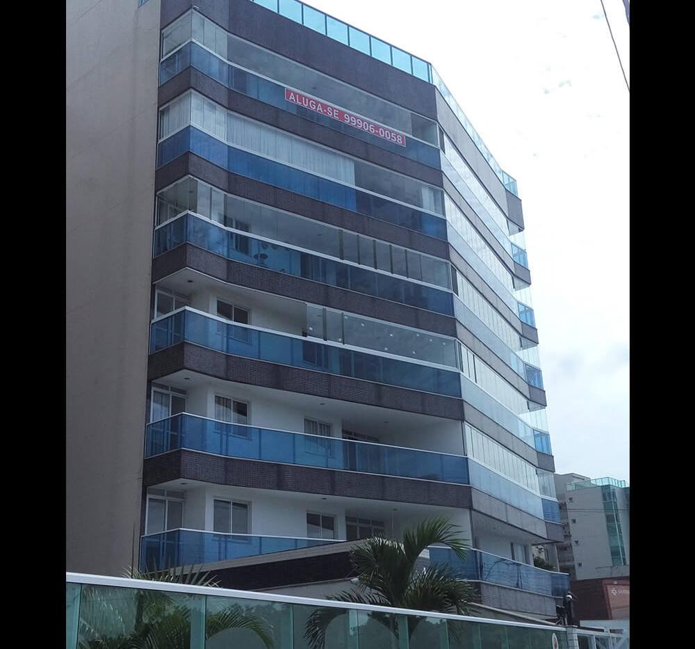 Instalação de Fechamento de Varanda - Camburi - Vitória