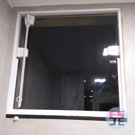 Instalação de Báscula de Vidro em Santa Lúcia - Vitória/ES