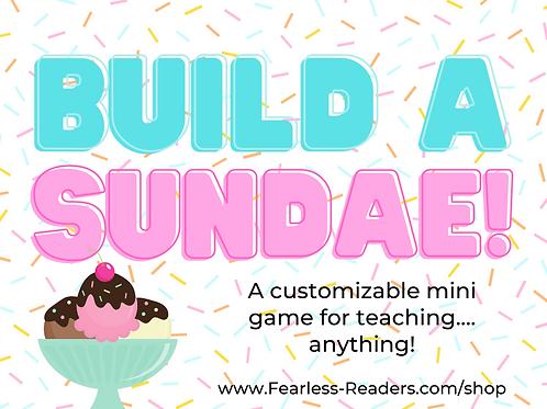Build a Sundae Mini-Game