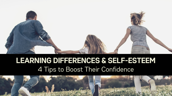 Learning Differences & Self-esteem: 4 tips to boost their confidence