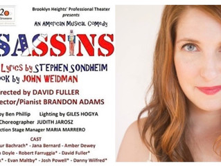 "Elizabeth Kensek is in ""Assassins""! Congrats!"
