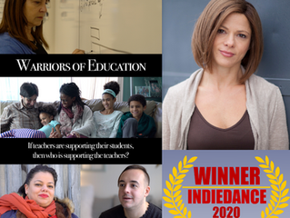 Warriors of Education wins at festival