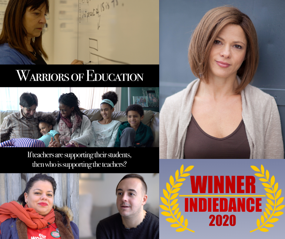 Filmmaker Karen Sklaire, and her documentary 'Warriors of Education'