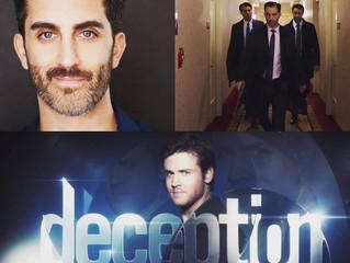 """Congratulations! Cooper Grodin in ABC's """"Deception""""!"""