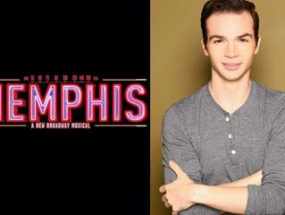 "Congratulations! Justin Schaffner in ""Memphis""!"