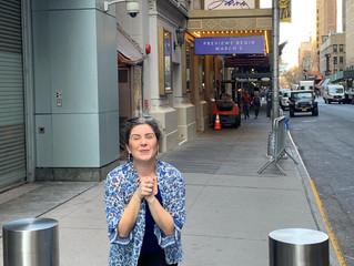 Laura's Broadway Debut