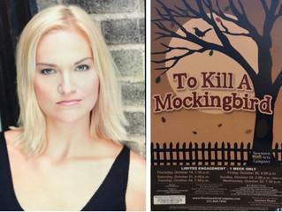 "Hats off to Erin Dahl in ""To Kill A Mockingbird""!"