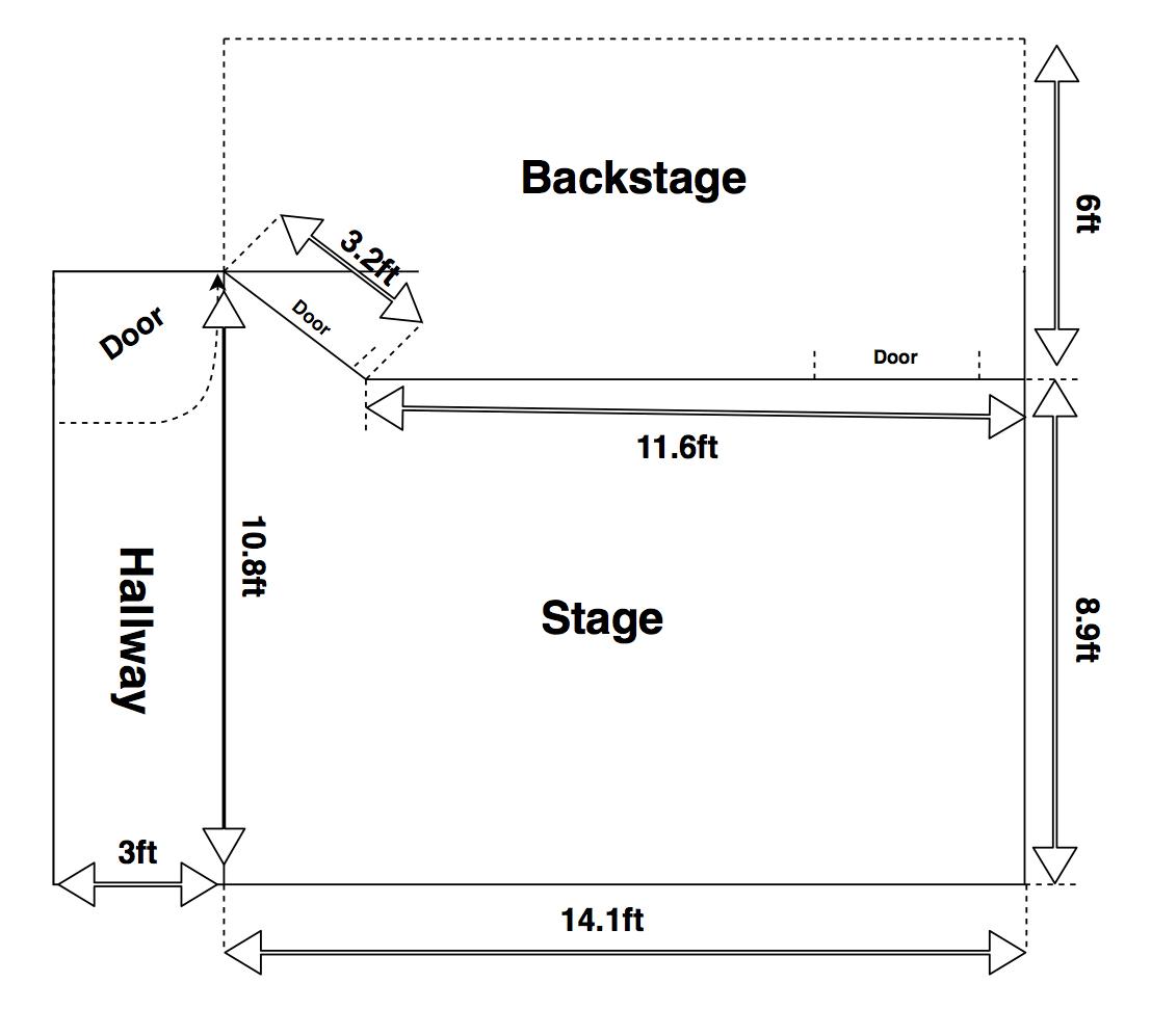 MCS Mainstage Floor Plan