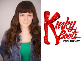 """Congratulations! Lynda DeFuria in """"Kinky Boots"""" National Tour!"""