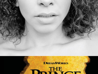 """Congratulations! Alexis Sims in the World Premier of """"The Prince of Egypt""""!"""