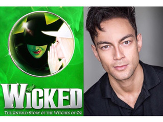 """Congratulations! Carl Man in """"Wicked"""" on the West End!"""