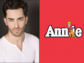 """Congratulations to Cooper Grodin in """"Annie"""" at the Paper Mill Playhouse!"""