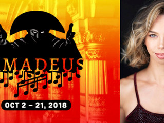 """Congratulations! Jillian Paige in """"Amadeus""""!"""
