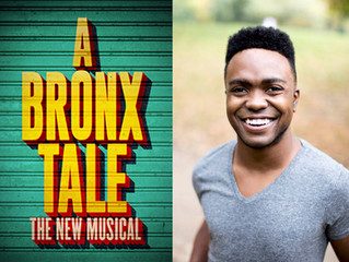 """Congratulations! Jason Williams in the tour of """"A Bronx Tale""""!"""