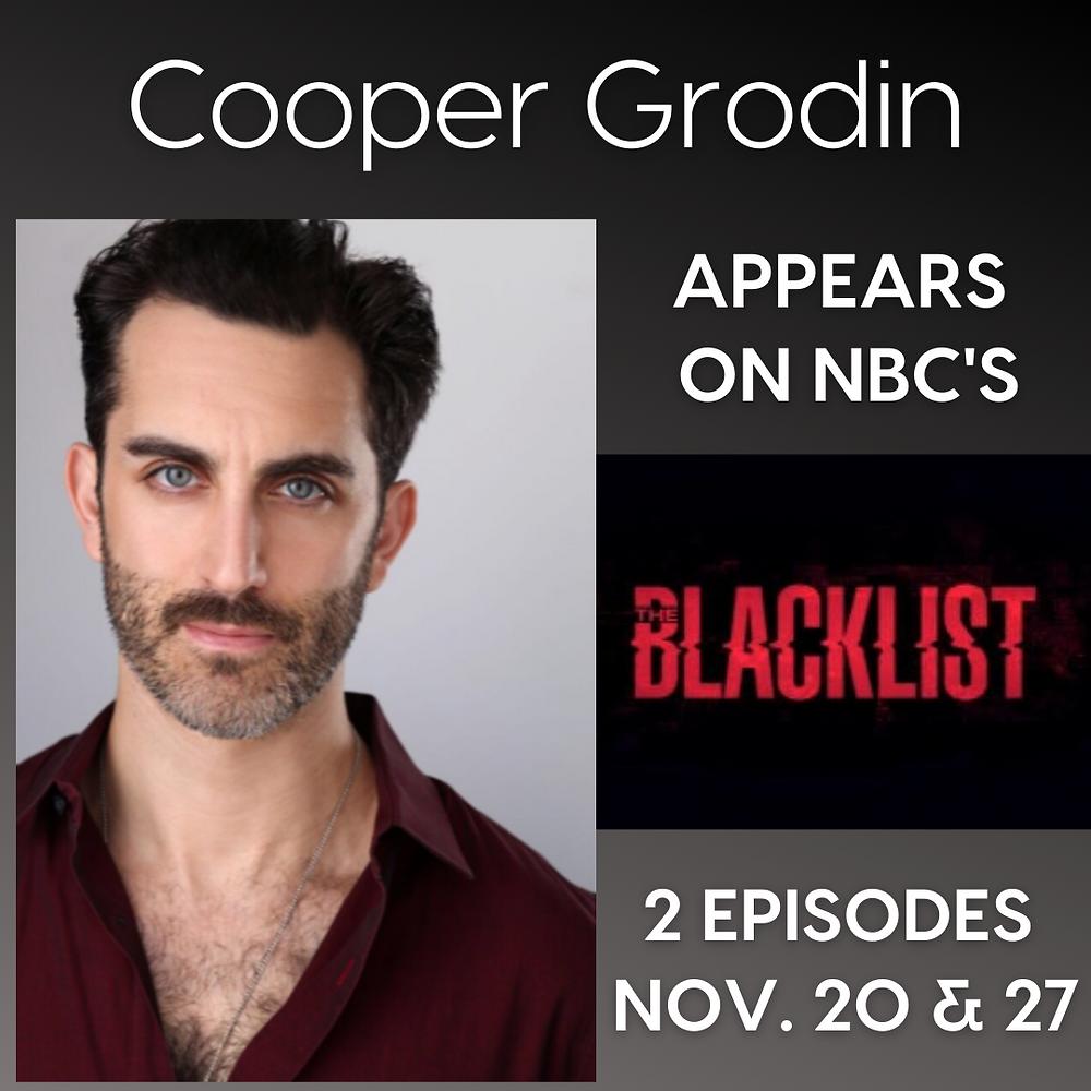 Cooper Grodin on the 'Blacklist'