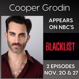 Cooper Grodin on 'The Blacklist'