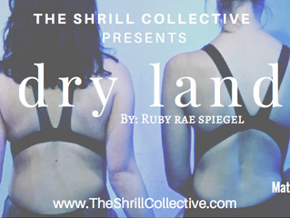 """Congratulations! The Shrill Collective opening """"Dryland""""!"""