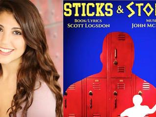 "Sara Romanello books ""Sticks & Stones"""
