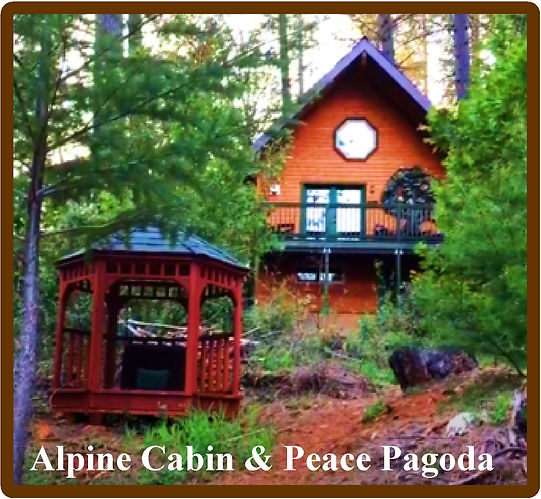 May 2020 Alpine Cabin and Peace Pagoda T