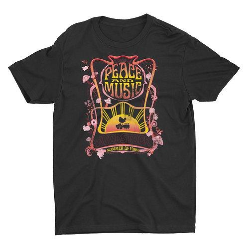 Woodstock 3 Days of Peace & Music Premium Unisex Boyfriend T-Shirt